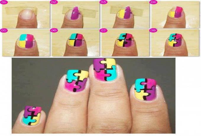 Nail Art Ideas Step By