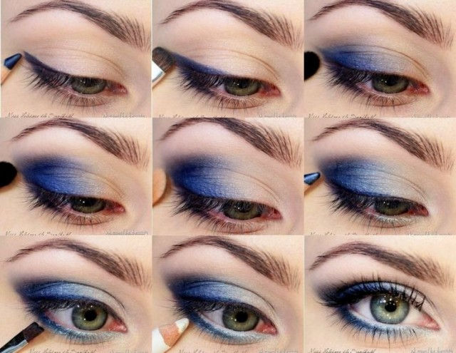 MAKE UP BLUE EUES